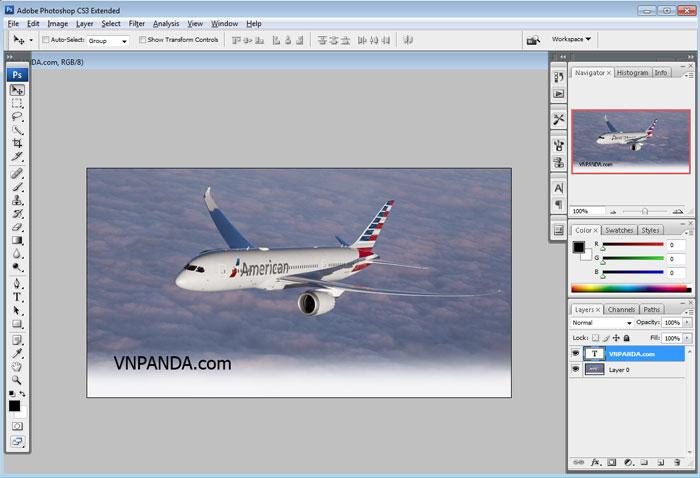 Photoshop CS3 Full Portable không cần cài đặt nhẹ 48mb đầy