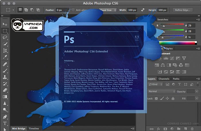 Download Photoshop CS6 32+64 Bit Full crack 100% thành công